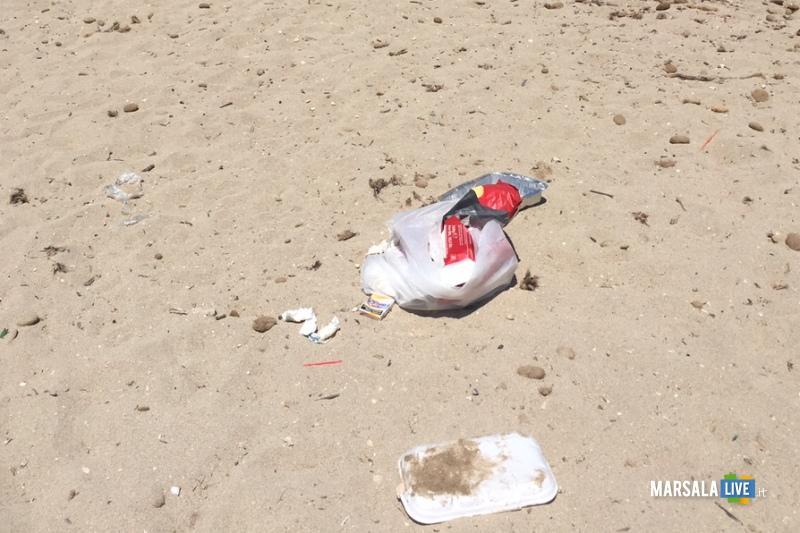 Marsala, Marilena Spiaggia sporca (2)