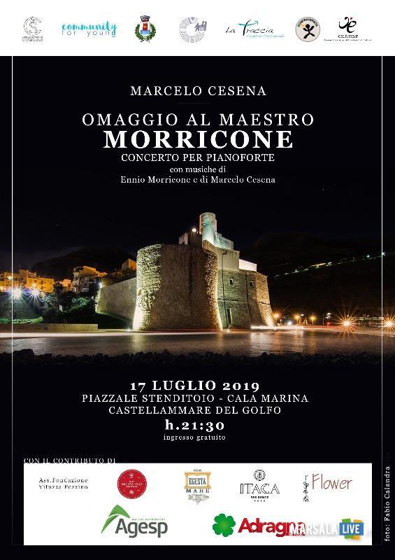 Omaggio Ennio Morricone, castellammare del golfo 2019