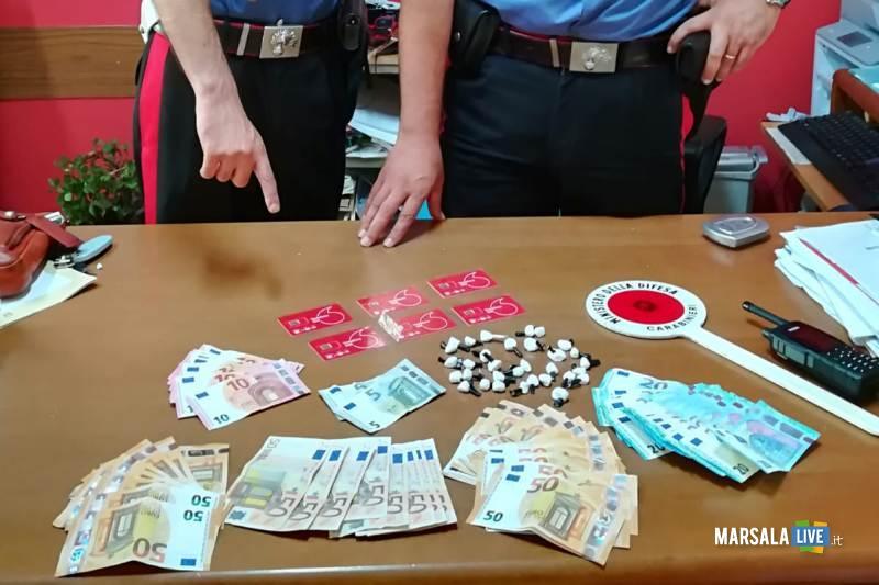 Operazioni antidroga dei Carabinieri, castelvetrano (1)