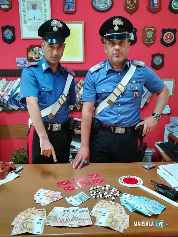 Operazioni antidroga dei Carabinieri, castelvetrano (2)