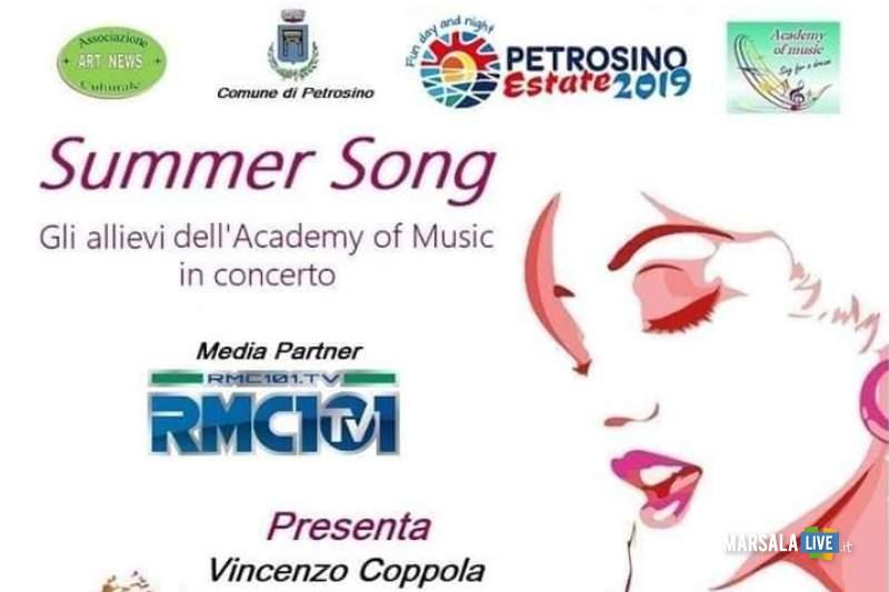 Summer Song, petrosino 2019