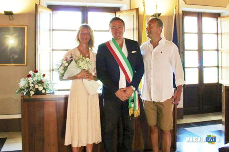 Umberto Palmero e Michela Valpreda, sposi favignana (3)