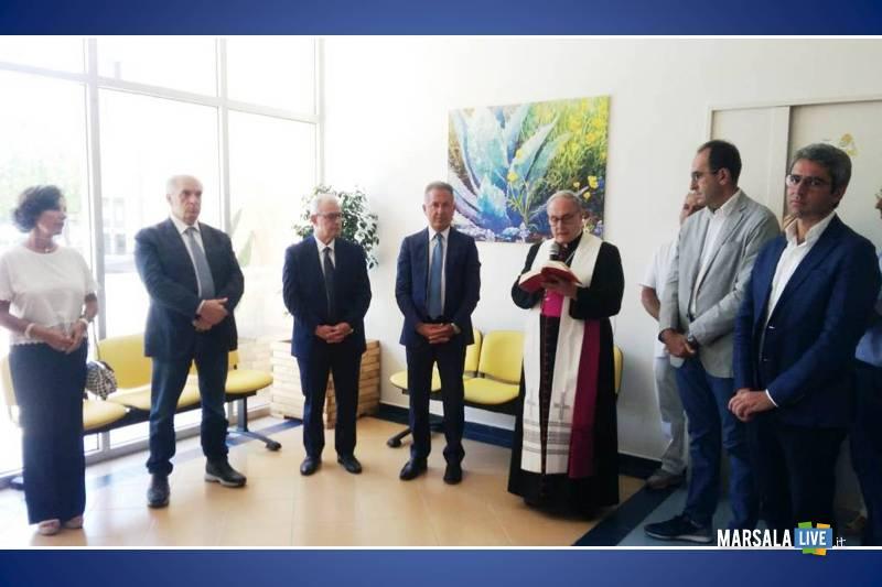 area accoglienza ospedale Vittorio Emanuele III salemi