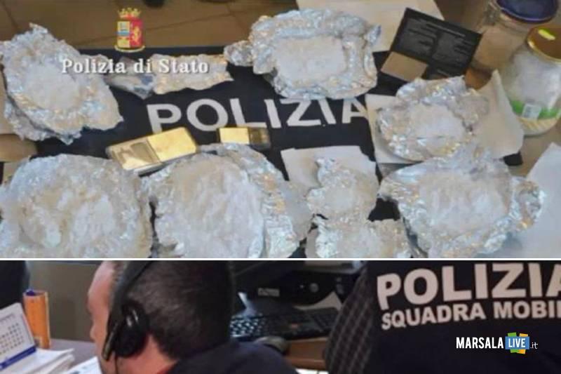 droga arresti polizia palermo