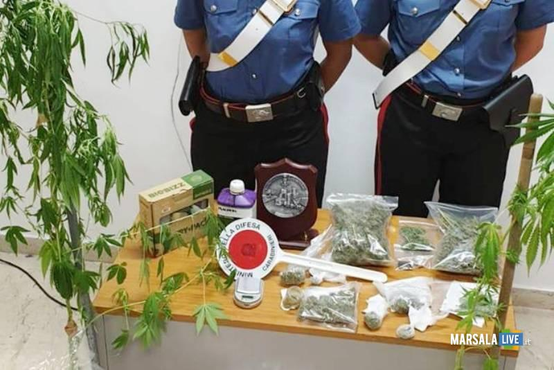 droga mazara, carabinieri
