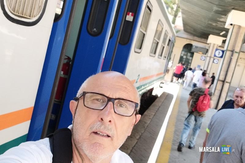 gaspare Barraco, treno