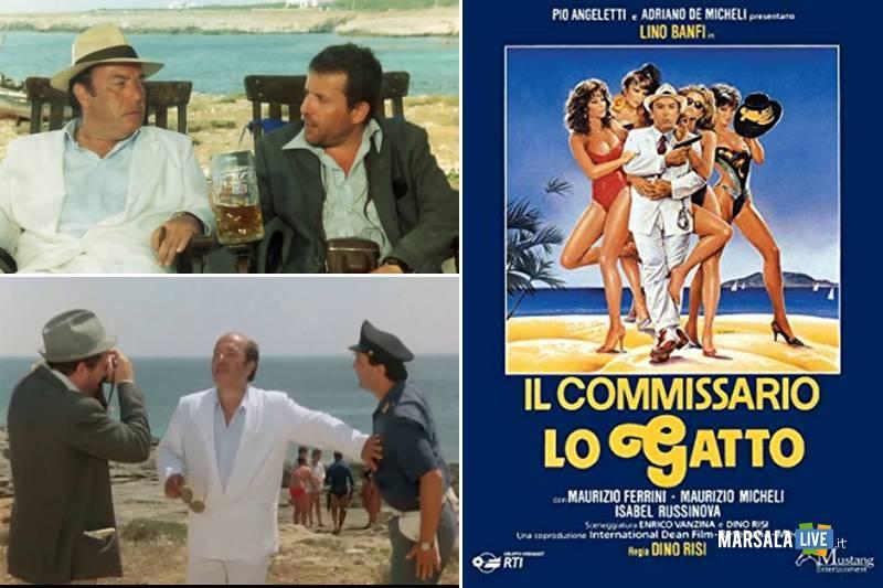 il commissario lo gatto, banfi a Favignana