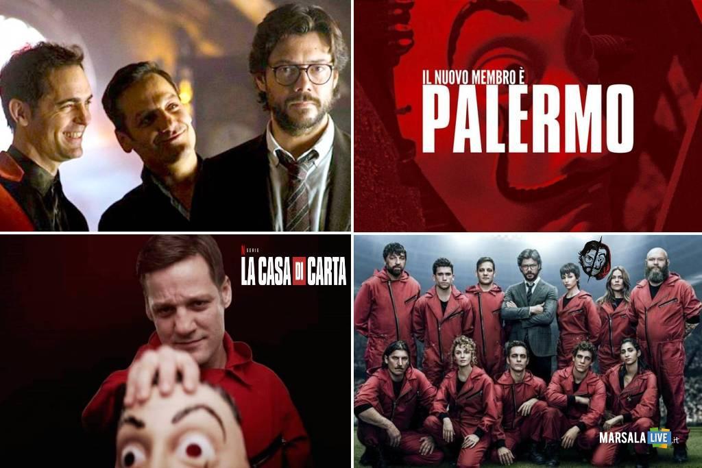 la casa di carta 3, Palermo, la casa de papel, netflix