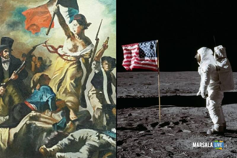 rivoluzione francese e sbarco sulla luna