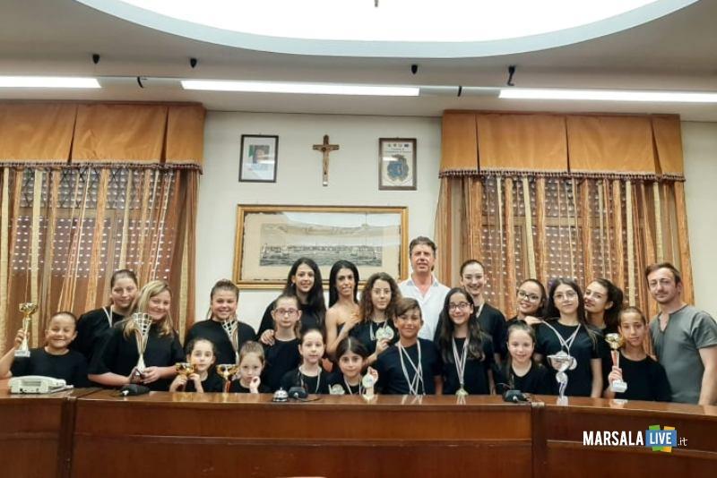 sindaco incontra allieve school of dance premiate al campionato nazionale di danza_giugno 2019