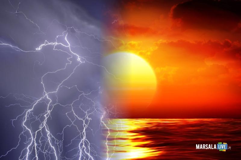 temporale e sole