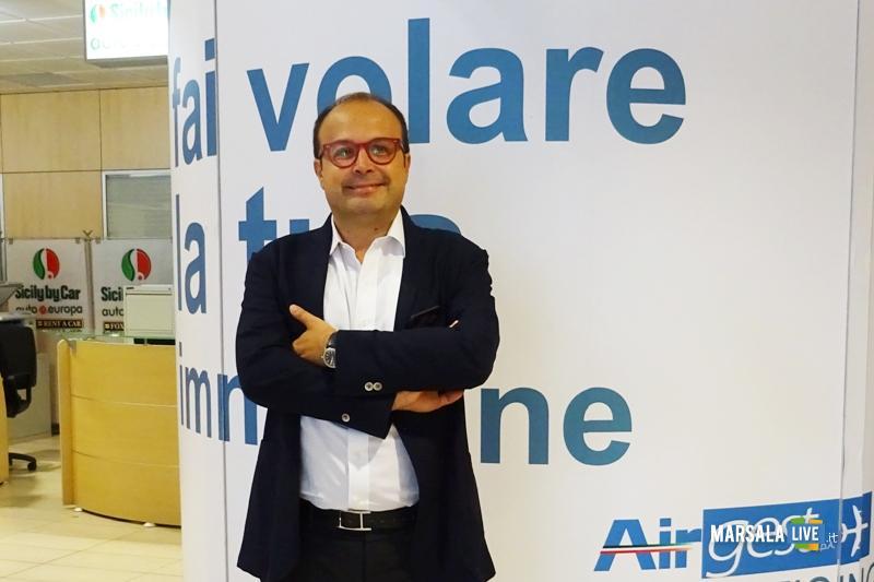 Aeroporto Trapani Birgi, Paolo Angius di Airgest