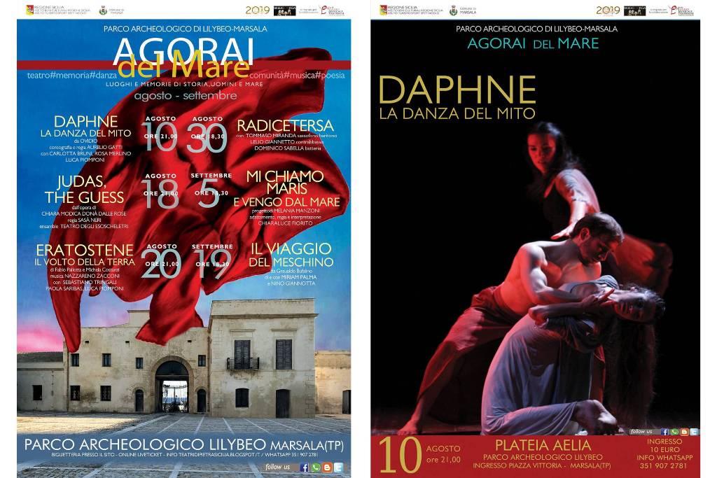 Agorai del mare, Parco archeologico Lilibeo - Daphne. La danza del Mito