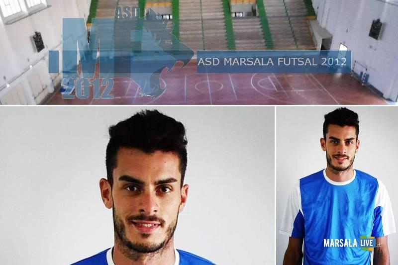 Alessio Liuzza marsalese, nuovo giocatore del Marsala Futsal