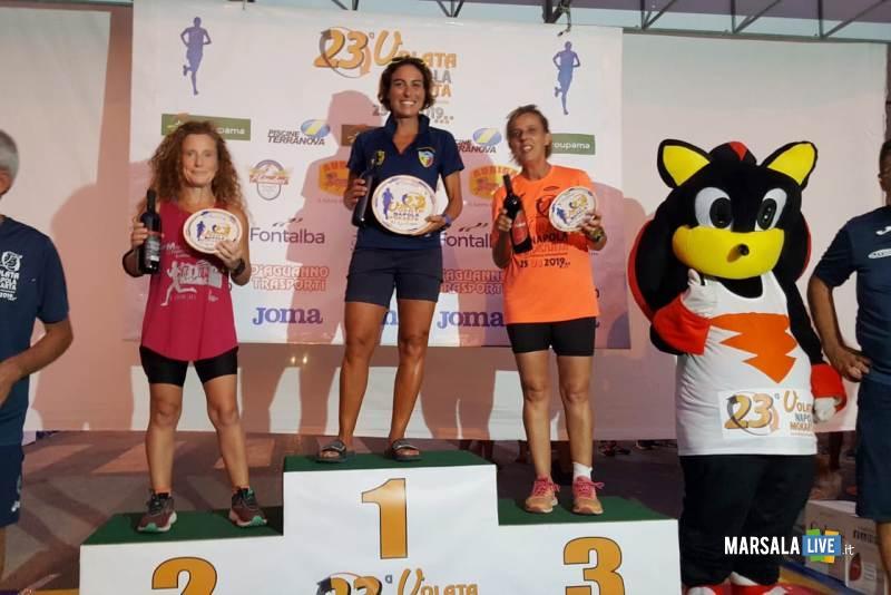 Atl - Matilde Rallo sul podio