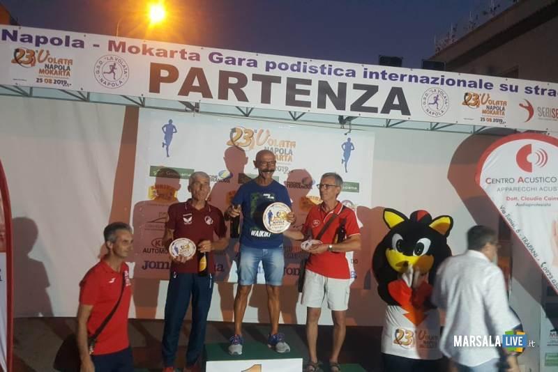 Atl - Michele D'Errico sul gradino più alto del podio
