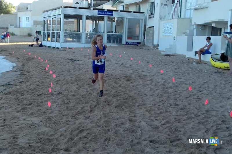 - Atl. - Matilde Rallo sulla spiaggia del commissario Montalbano