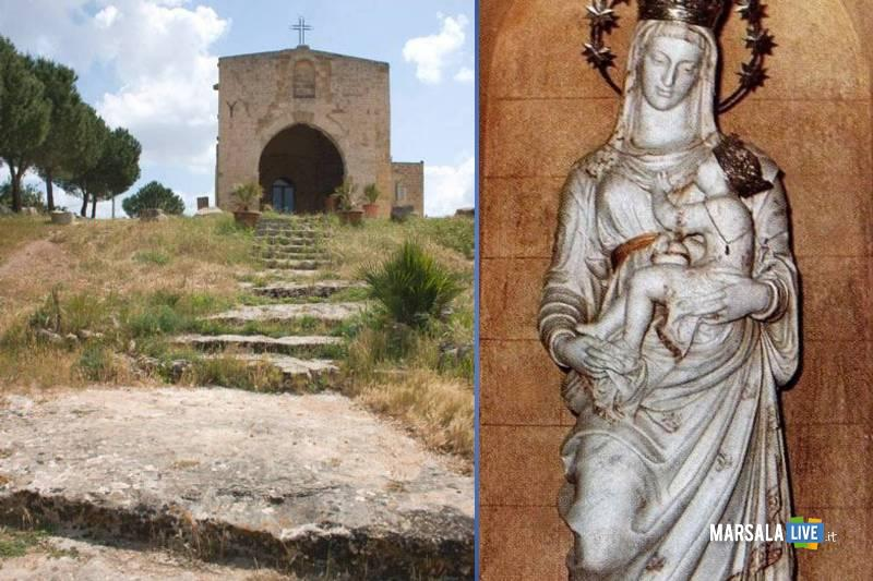 Cappella Ospedale Mazara, pellegrinaggio Madonna dell_Alto
