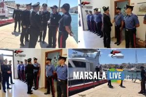 Carabinieri, Generale Leonardo Cataldo visita Favignana