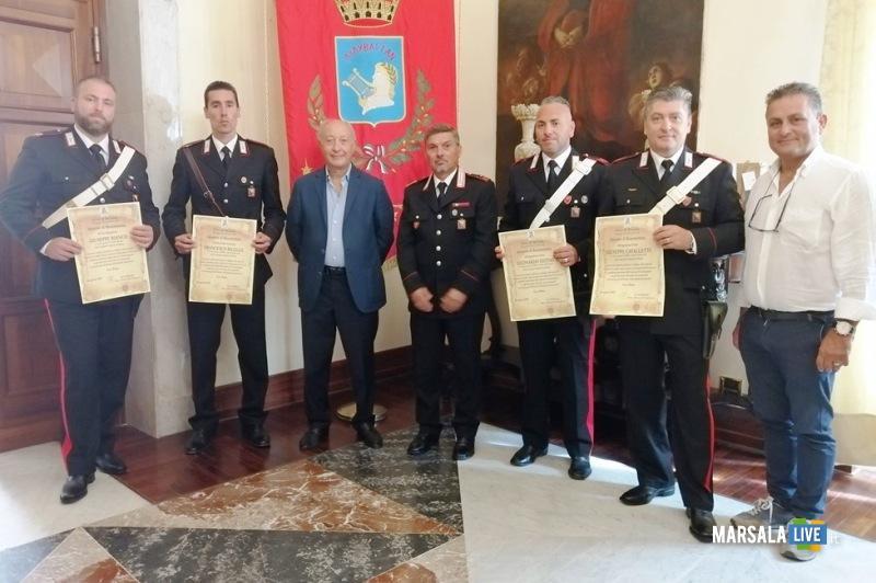 Conferimento attestati carabinieri