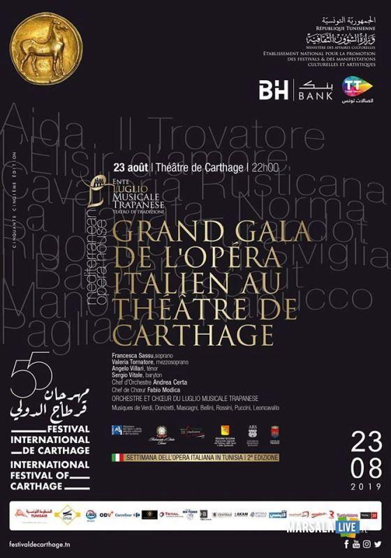 Gran Galà Opera Lirica Italiana, Teatro di Cartagine (2)