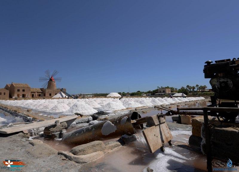 I Salinari e la lavorazione del sale dello Stagnone di Marsala (5)