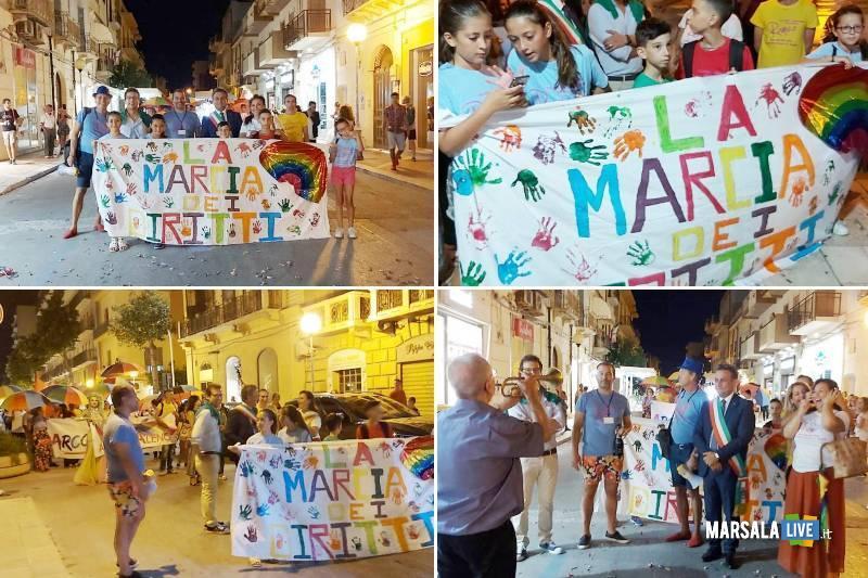 La Marcia dei Diritti, Marsala 2019