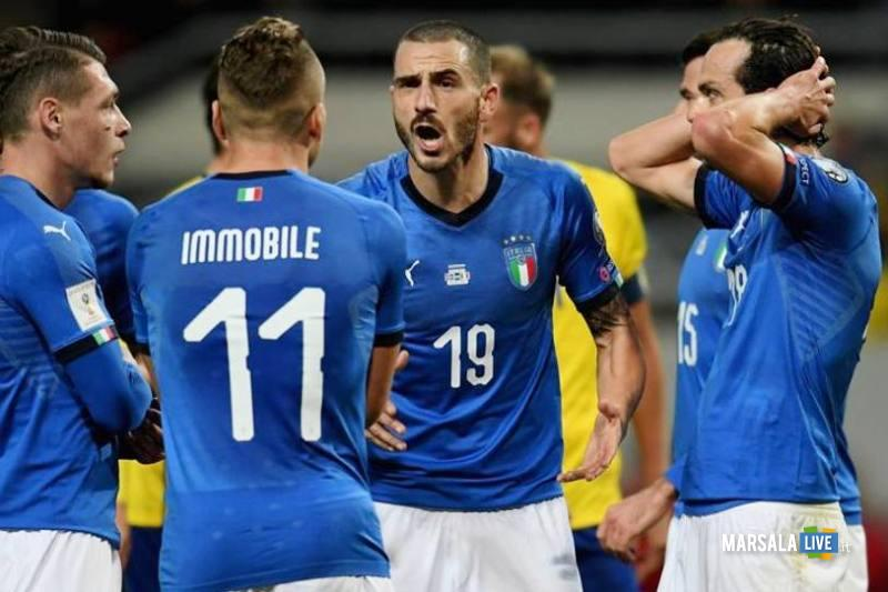 La Nazionale di calcio maschile, Italia