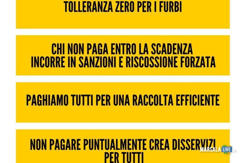 Manifesto Tari 2019 - Petrosino, rifiuti