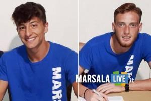 Marsala Calcio, Saul Pucci e Antonio Russo