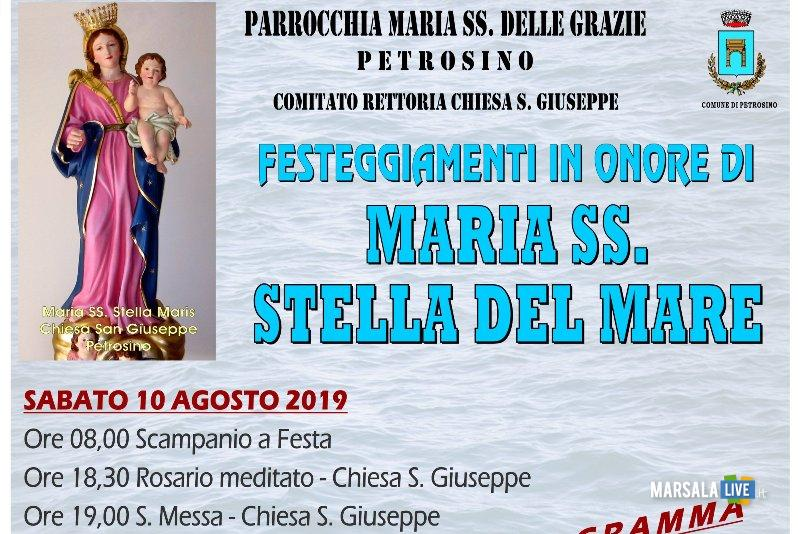 Programma Maria Stella del Mare, Petrosino 2019