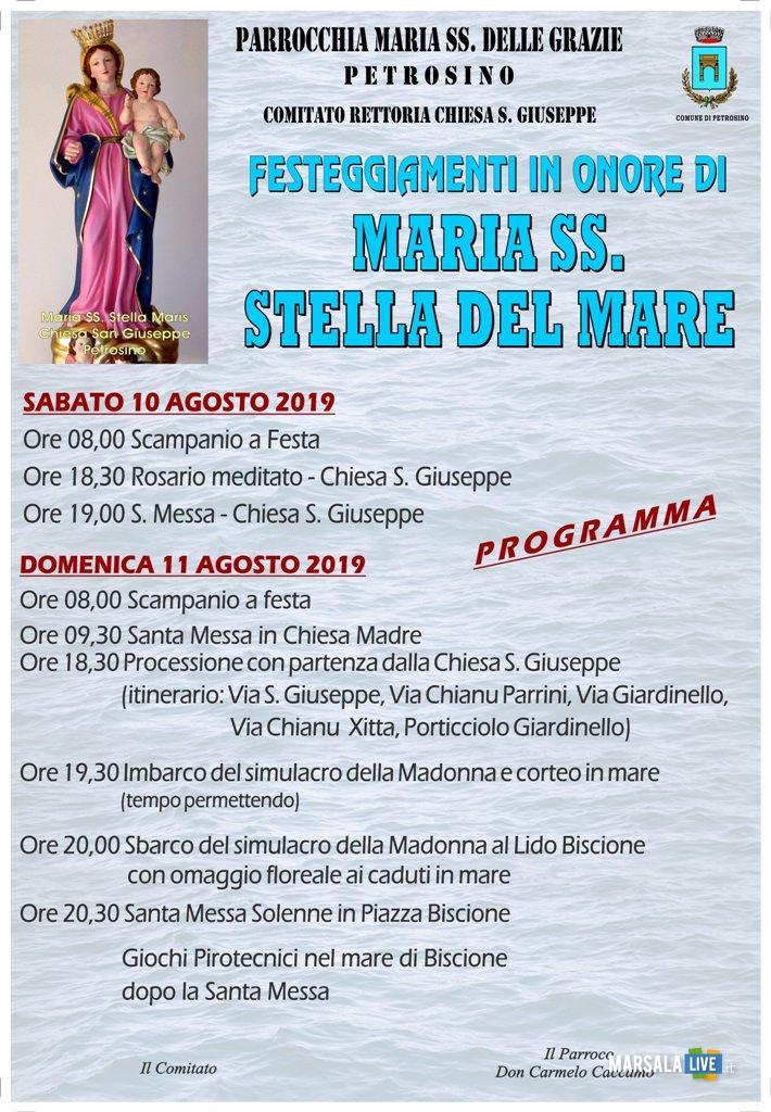 Programma Maria Stella del Mare, Petrosino