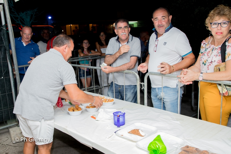 Sagra della Sfincia e Notte Folk 2019, piazza Biscione Petrosino (24)