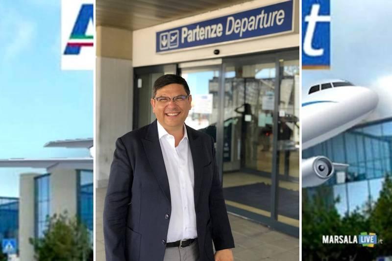 Salvatore Ombra, aeroporto Trapani-Birgi - Vincenzo Florio