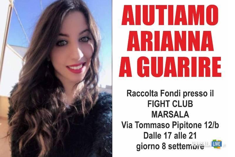 arianna Maniscalco, raccolta fondi Marsala
