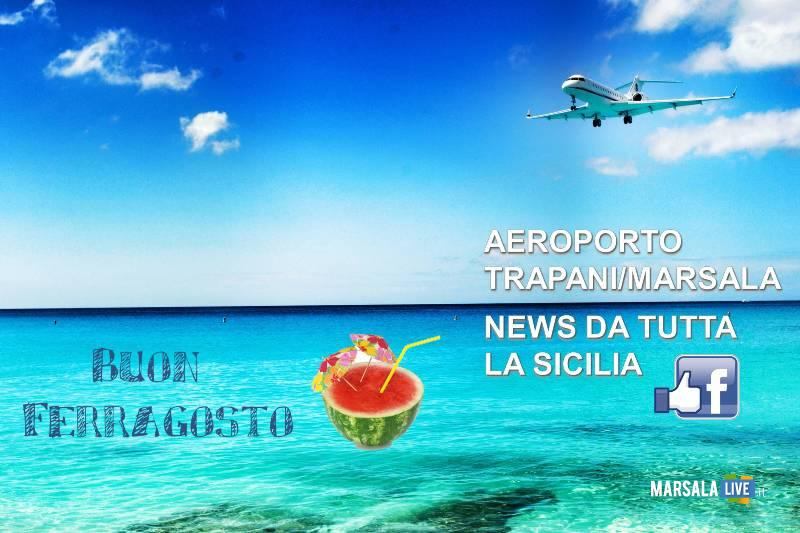 buon ferragosto aeroporto trapani birgi 2019 ML