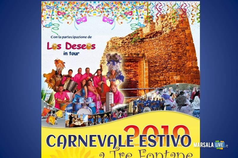 carnevale estivo a Tre Fontane