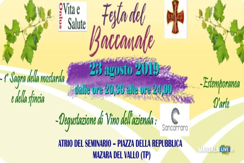 festa baccanale 2019