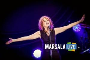 fiorella Mannoia a Marsala teatro Impero, dicembre 2019