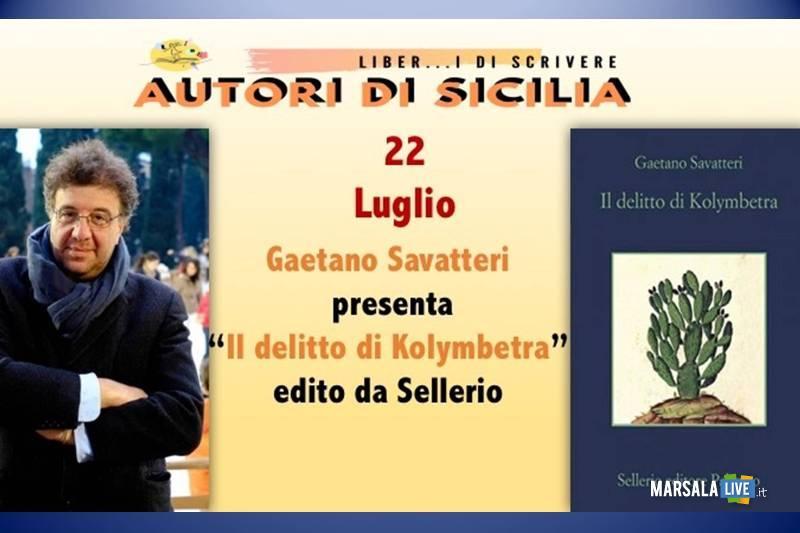 incontro letterario Gaetano Savatteri a Salemi