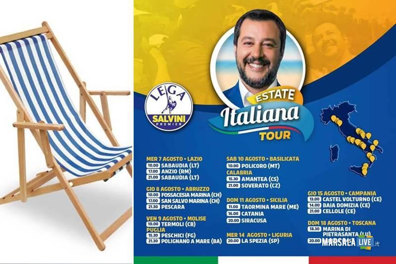 la-sdraio-di-Giusy-Giusi-Paladino-salvini tour