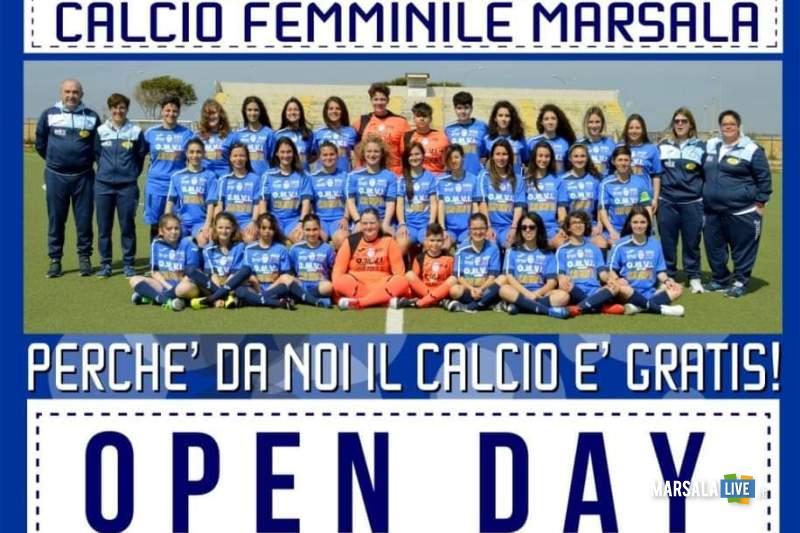 openday-2019-calcio femminile marsala