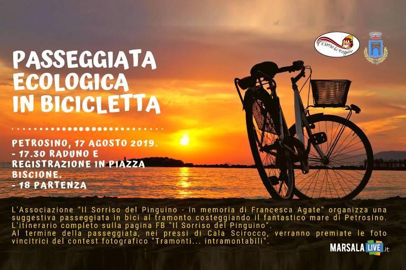 passeggiata ecologica in bicicletta a Petrosino