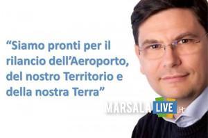 salvatore Ombra, aeroporto Birgi Trapani, Airgest