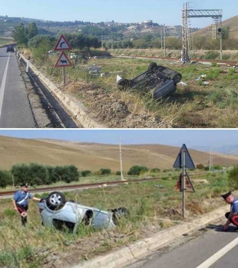 AlfonsoTaglialavoro, incidente Palermo-Agrigento 189