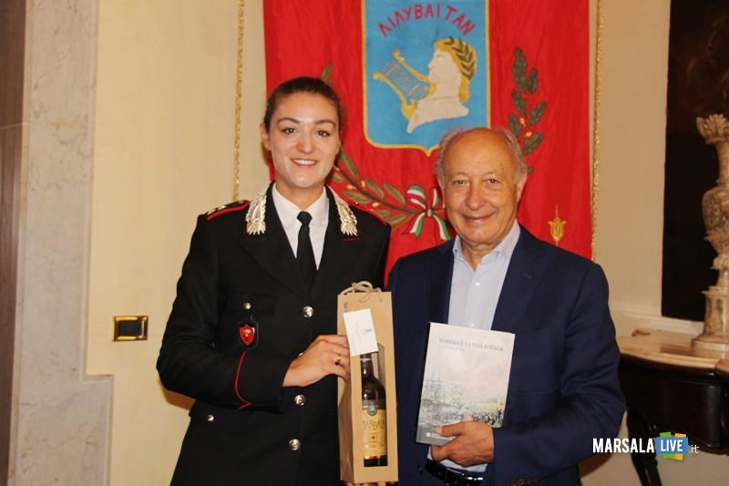 Carabinieri Virginia Coni lascia Marsala