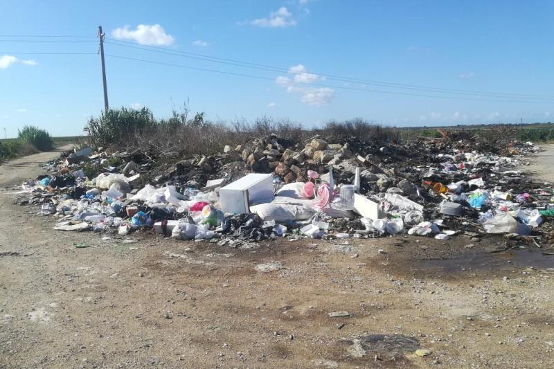 Contrasto abbandono rifiuti a Marsala (1)
