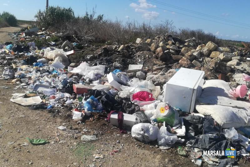 Contrasto abbandono rifiuti a Marsala (2)
