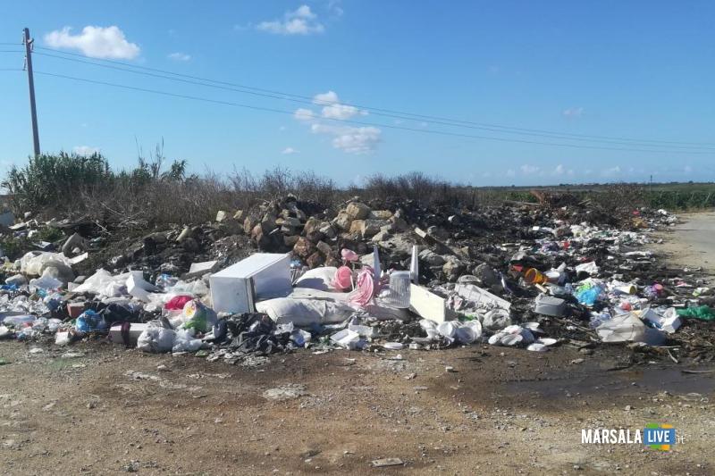 Contrasto abbandono rifiuti a Marsala (3)
