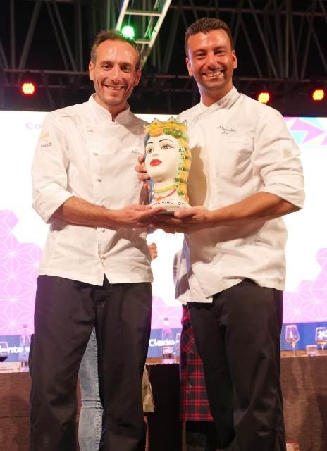 Elio Genualdo e Massimiliano Poli i due chef vincitori